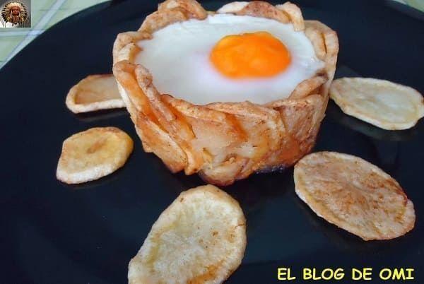 Cesta de Patatas Rellena