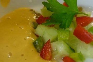 Gazpacho de Khay Avar Codium Salvaje