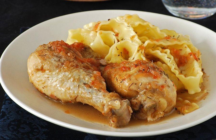 Muslos de Pollo al Vinagre de Jerez