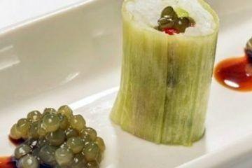 Sushi Invertido Relleno de Khay Avar Wakame