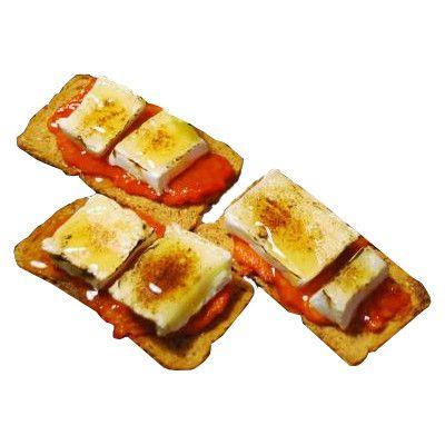 tostadas de chorizo
