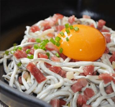 Recetas Navideña: Gulas con jamón ibérico y huevo de corral